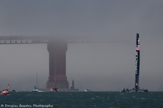 Oracle Team USA and the North Tower No.2