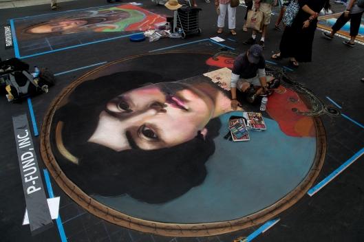 Italian Street Painting Festival