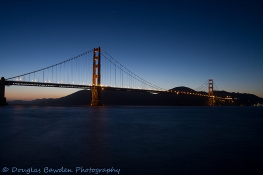 Blue Hour at The Bridge