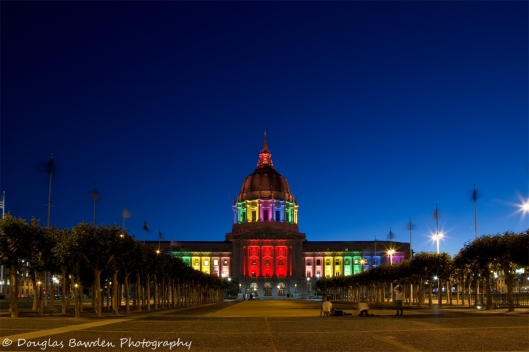 San Francisco City Hall - Pride 2013