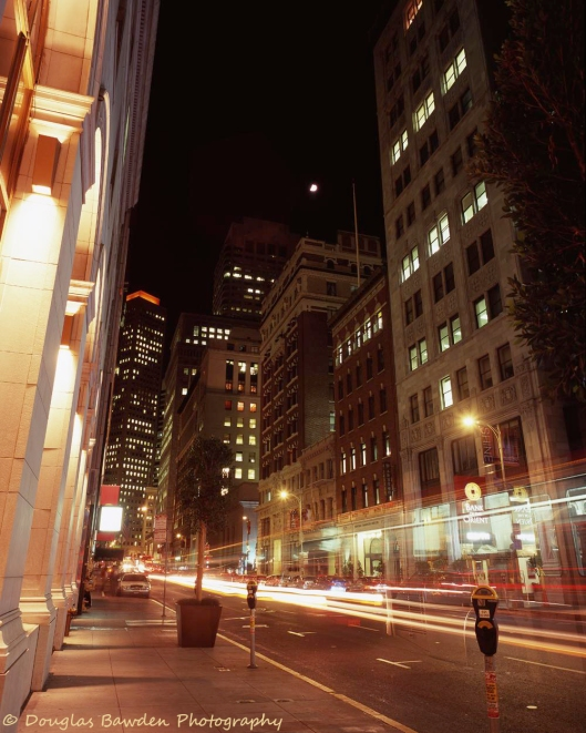 Sansome After Sundown - Large Format