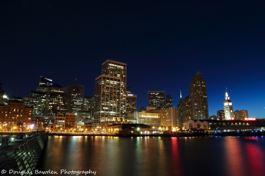 The Embarcadero at Blue Hour